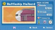 KEY Battleship Halberd