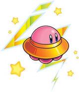 OVNI Kirby art conceptuel KNiDL