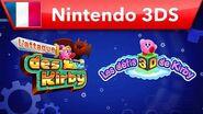 Kirby Planet Robobot - L'attaque des Kirby & Les défis 3D de Kirby (Nintendo 3DS)