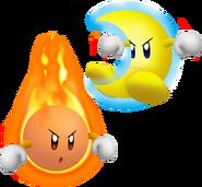 Mr Shine and Mr Bright KDL3D
