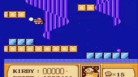 Kirby's Adventure walkthrough 4-1