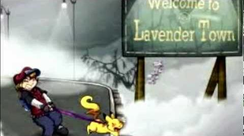 Lavender Town Theme Reversed and Slowed