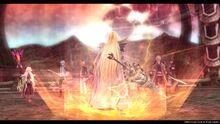 Arianrhod preparing for battle (Sen IV).jpg