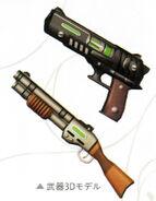 Dudley - Weapon 3D Model (Zero)
