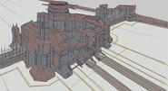 Juno Naval Fortress 4 - Concept Art (Sen III)