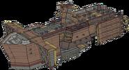 Republic Army Battleship Concept Art (Sen IV)