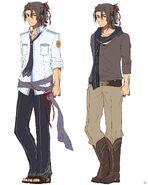 Gaius Worzel - Vestless & Casual Clothes (Sen)