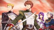 Swordsmen and the Descendants - Visual (SC Evo)