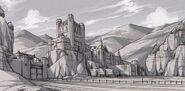 Aurochs Fort Sketch - Concept Art (Sen)