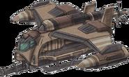 Republic Army Gunship Concept Art (Sen IV)