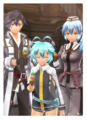 Photo of Rean, Millium & Claire (Sen IV)