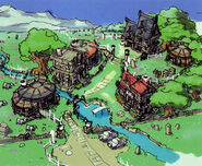 Armorica Village - Concept Art (Zero)