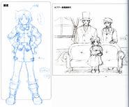 Josette & Capua Family - Concept Art (FC)