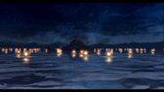 Mishelam Lake Beach Lanterns Photo (Sen IV)