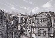Heimdallr Ost District Sketch - Concept Art (Sen)