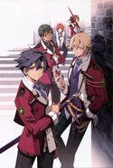 Boys of Class VII - Official Art (Sen)