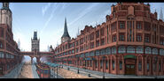 Heimdallr Vainqueur Street Sketch Colour - Concept Art (Sen)