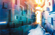 Infinity Corridor Concept Art 2 (Hajimari)