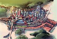 Crossbell City - Early Design (Zero)