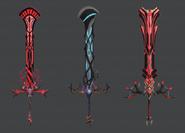 Ebon Sword Concept Art (Sen IV)