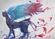Roselia Burning Sphinx Concept Art (Sen IV)