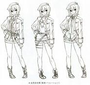 Noel - Outfit Variations 1 (Zero)