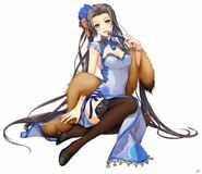 Vita Clotilde Qipao S-Craft (Akatsuki)