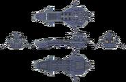 Gargantua Class Battleship Concept Art 2 (Sen IV)