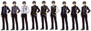 Machias Regnitz Uniform Variations - Concept Art (Sen)
