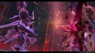 Zector unarms Valimar (Sen III)