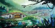 Erin Village - Concept Art (Sen IV)