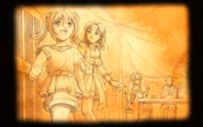 Memories - Scherazard and Estelle at the Harvey tent - Visual (SC)