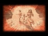 Memories - Karin, Joshua and Loewe escaping - Visual (SC)
