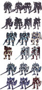 Panzer Soldats Initial Designs - Concept Art (Sen)