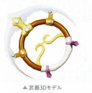 Kilika - Weapon 3D Model (Ao)
