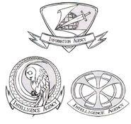 Intelligence Agency Emblem Initial Design - Concept Art (Sen)