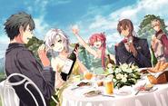 Imperial Wedding - 8 - Machias, Fie, Sara & Gaius (Sen IV)