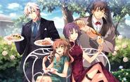 Imperial Wedding - 11 - Crow, Towa, Angelica & George (Sen IV)