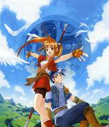 Under the Blue Sky - Key Visual (FC)