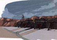 Garrelia Fortress Early Design - Concept Art (Sen)