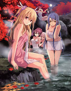 One Night In Hot Spring Paradise - Official Art(Sen)