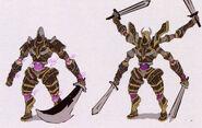 Magic Knight Early Design 2 - Concept Art (Sen II)