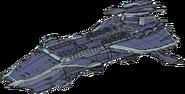 Gargantua Class Battleship Concept Art (Sen IV)