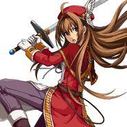 Estelle Bright Red Knight S-Craft (Akatsuki)
