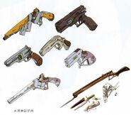 Elie - Weapon Sketches (Zero)