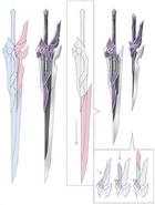 Swin's Swords Concept Art (Hajimari)