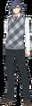 Rean Schwarzer - Casual Clothes Proposal 1 (Sen III)