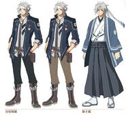Crow Armbrust alt costume concept art (Hajimari)
