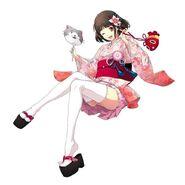 Chloe Barnett Yukata S-Craft full (Akatsuki)