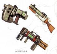 Noel - Weapon 3D Models (Ao)